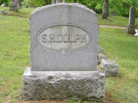 DOLPH, SIDNEY H. - Branch County, Michigan | SIDNEY H. DOLPH - Michigan Gravestone Photos
