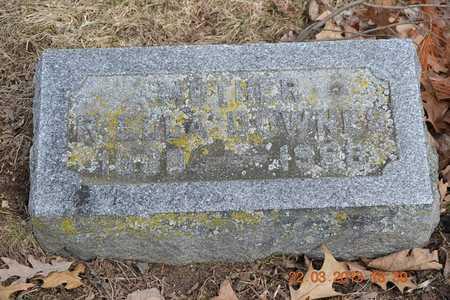 DOWNES, R. ELLA - Branch County, Michigan | R. ELLA DOWNES - Michigan Gravestone Photos