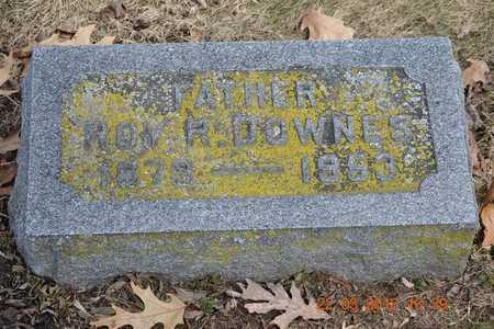 DOWNES, ROY R. - Branch County, Michigan | ROY R. DOWNES - Michigan Gravestone Photos