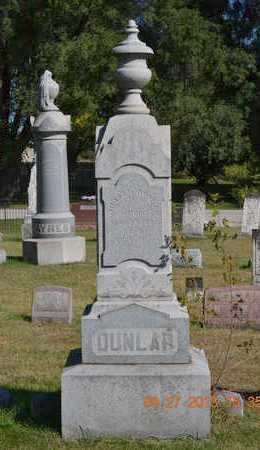 DUNLAP, JANE - Branch County, Michigan | JANE DUNLAP - Michigan Gravestone Photos