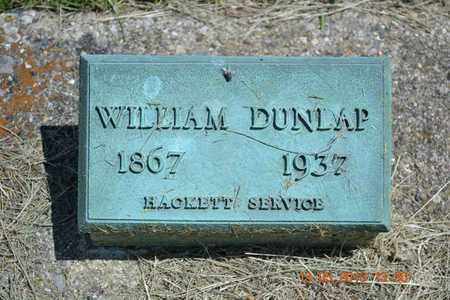 DUNLAP, WILLIAM - Branch County, Michigan | WILLIAM DUNLAP - Michigan Gravestone Photos