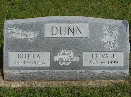 DUNN, TREVA J. - Branch County, Michigan | TREVA J. DUNN - Michigan Gravestone Photos