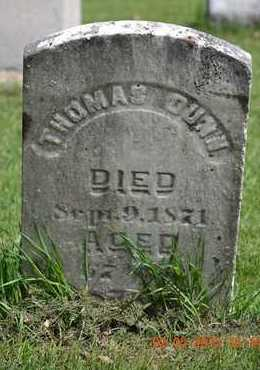 DUNN, THOMAS - Branch County, Michigan   THOMAS DUNN - Michigan Gravestone Photos