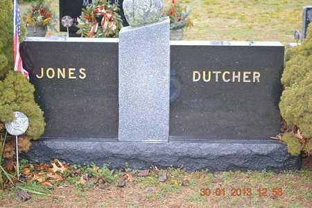 JONES, FAMILY - Branch County, Michigan | FAMILY JONES - Michigan Gravestone Photos