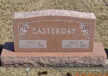 EASTERDAY, PAUL A. - Branch County, Michigan | PAUL A. EASTERDAY - Michigan Gravestone Photos