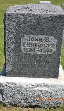 EICHHOLTZ, JOHN S. - Branch County, Michigan | JOHN S. EICHHOLTZ - Michigan Gravestone Photos