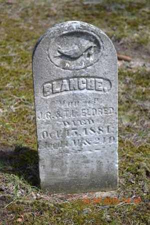 ELDRED, BLANCHE - Branch County, Michigan | BLANCHE ELDRED - Michigan Gravestone Photos