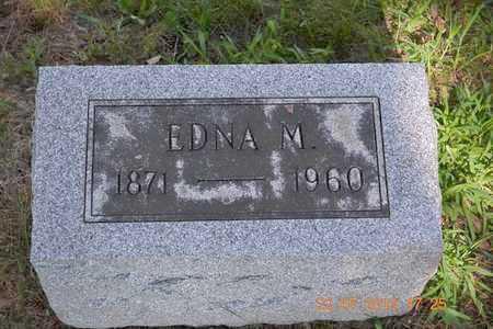 ELDRED, EDNA M. - Branch County, Michigan   EDNA M. ELDRED - Michigan Gravestone Photos