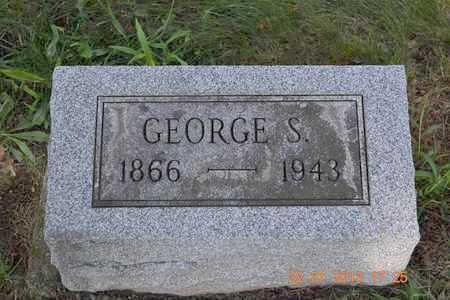 ELDRED, GEORGE S. - Branch County, Michigan | GEORGE S. ELDRED - Michigan Gravestone Photos