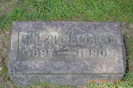 ELDRED, HELEN L. - Branch County, Michigan   HELEN L. ELDRED - Michigan Gravestone Photos