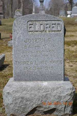 ELDRED, JOSEPH G. - Branch County, Michigan | JOSEPH G. ELDRED - Michigan Gravestone Photos