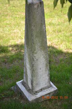 ELDRED, MARY A. - Branch County, Michigan   MARY A. ELDRED - Michigan Gravestone Photos