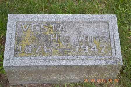 ELDRED, VESTA - Branch County, Michigan | VESTA ELDRED - Michigan Gravestone Photos