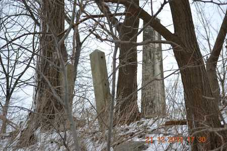 ENTRANCE, CEMETERY - Branch County, Michigan | CEMETERY ENTRANCE - Michigan Gravestone Photos