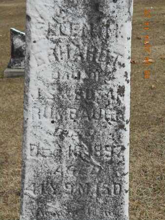ERHARDT, ELLEN M. - Branch County, Michigan | ELLEN M. ERHARDT - Michigan Gravestone Photos