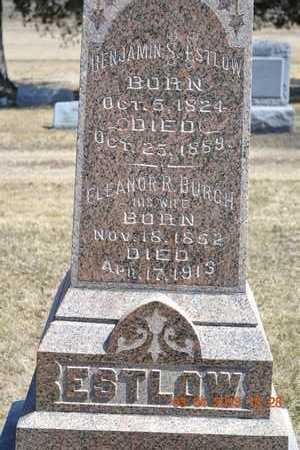 ESTLOW, BENJAMIN/ELEANOR - Branch County, Michigan | BENJAMIN/ELEANOR ESTLOW - Michigan Gravestone Photos