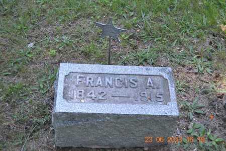 FAIRBANKS, FRANCIS A. - Branch County, Michigan | FRANCIS A. FAIRBANKS - Michigan Gravestone Photos