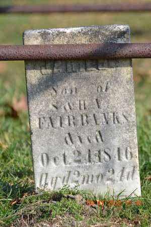 FAIRBANKS, JAMES - Branch County, Michigan   JAMES FAIRBANKS - Michigan Gravestone Photos