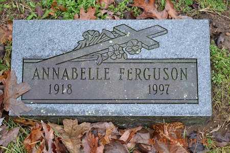 FERGUSON, ANNABELLE - Branch County, Michigan | ANNABELLE FERGUSON - Michigan Gravestone Photos