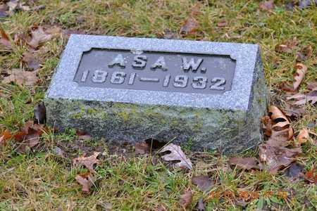 FERGUSON, ASA W. - Branch County, Michigan | ASA W. FERGUSON - Michigan Gravestone Photos