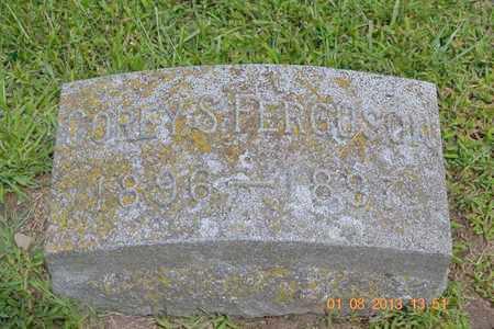 FERGUSON, COREY S. - Branch County, Michigan | COREY S. FERGUSON - Michigan Gravestone Photos