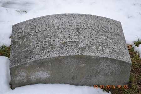 FERGUSON, GLENN W. - Branch County, Michigan   GLENN W. FERGUSON - Michigan Gravestone Photos