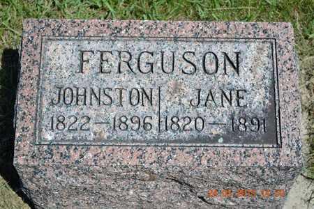 FERGUSON, JOHNSTON - Branch County, Michigan | JOHNSTON FERGUSON - Michigan Gravestone Photos