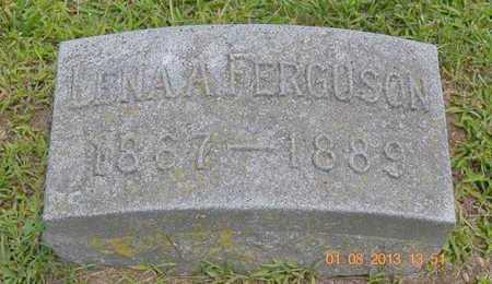 FERGUSON, LENA A. - Branch County, Michigan   LENA A. FERGUSON - Michigan Gravestone Photos