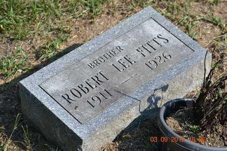 FITTS, ROBERT LEE - Branch County, Michigan   ROBERT LEE FITTS - Michigan Gravestone Photos
