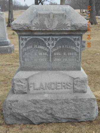 FLANDERS, CALVIN H. - Branch County, Michigan | CALVIN H. FLANDERS - Michigan Gravestone Photos