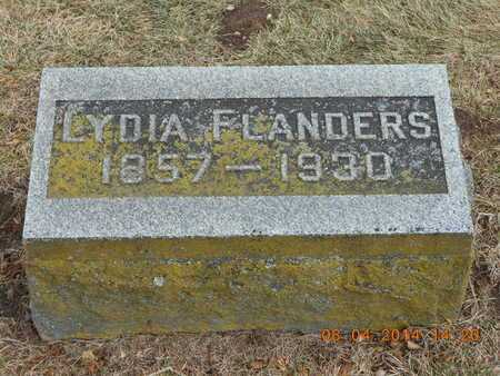 FLANDERS, LYDIA - Branch County, Michigan | LYDIA FLANDERS - Michigan Gravestone Photos
