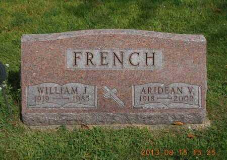 FRENCH, ARIDEAN V. - Branch County, Michigan | ARIDEAN V. FRENCH - Michigan Gravestone Photos
