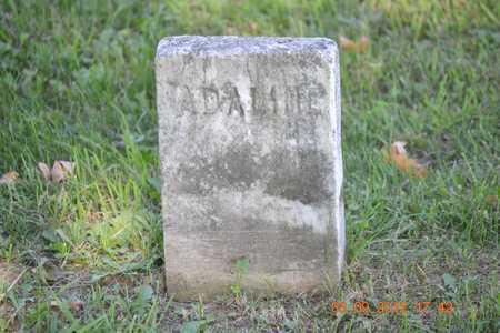 FRENCH, ADALINE - Branch County, Michigan | ADALINE FRENCH - Michigan Gravestone Photos