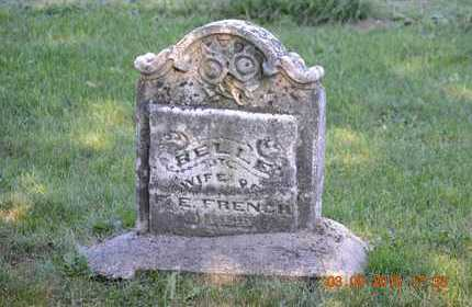 FRENCH, BELLE - Branch County, Michigan | BELLE FRENCH - Michigan Gravestone Photos