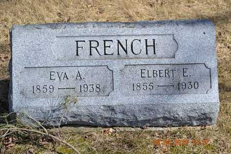 FRENCH, EVA A. - Branch County, Michigan | EVA A. FRENCH - Michigan Gravestone Photos
