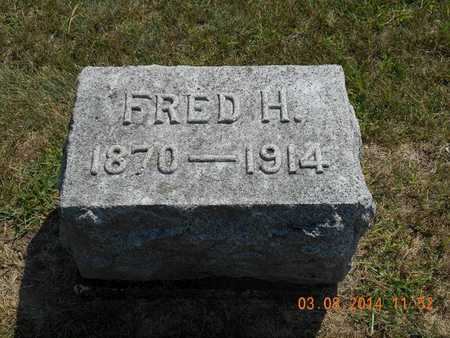 FRENCH, FRED H. - Branch County, Michigan | FRED H. FRENCH - Michigan Gravestone Photos