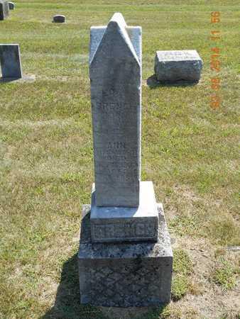 FRENCH, FAMILY - Branch County, Michigan | FAMILY FRENCH - Michigan Gravestone Photos