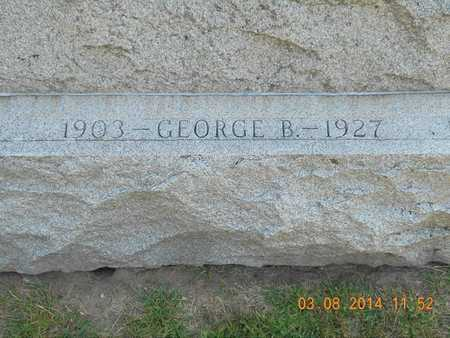 FRENCH, GEORGE B. - Branch County, Michigan | GEORGE B. FRENCH - Michigan Gravestone Photos