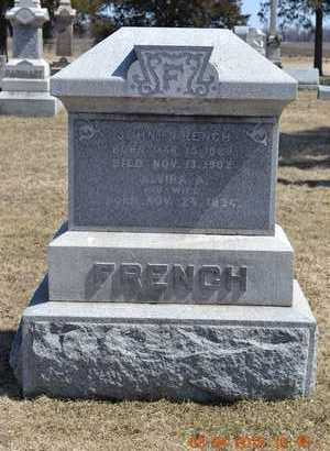 FRENCH, JOHN - Branch County, Michigan | JOHN FRENCH - Michigan Gravestone Photos