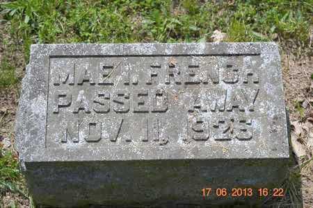 FRENCH, MAE I. - Branch County, Michigan | MAE I. FRENCH - Michigan Gravestone Photos