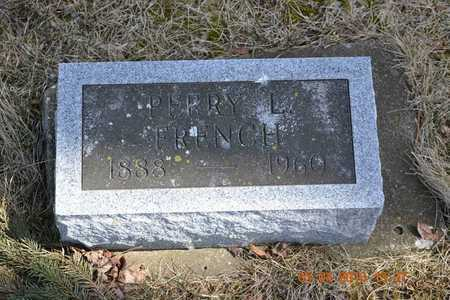 FRENCH, PERRY L. - Branch County, Michigan | PERRY L. FRENCH - Michigan Gravestone Photos