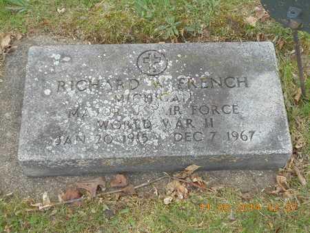 FRENCH, RICHARD W. - Branch County, Michigan | RICHARD W. FRENCH - Michigan Gravestone Photos