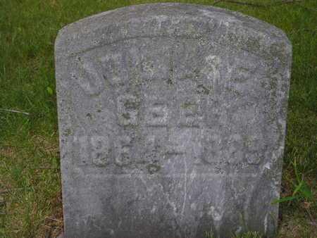 GEER, JULIA E. - Branch County, Michigan | JULIA E. GEER - Michigan Gravestone Photos