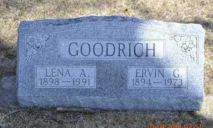 GOODRICH, ERVIN G. - Branch County, Michigan | ERVIN G. GOODRICH - Michigan Gravestone Photos