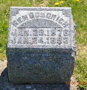 GOODRICH, REN - Branch County, Michigan | REN GOODRICH - Michigan Gravestone Photos