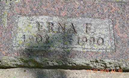 GOULD, ERNA F. - Branch County, Michigan | ERNA F. GOULD - Michigan Gravestone Photos