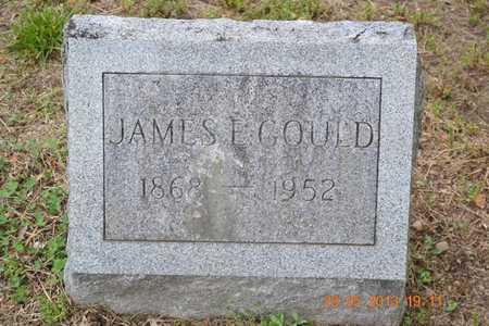GOULD, JAMES E. - Branch County, Michigan | JAMES E. GOULD - Michigan Gravestone Photos