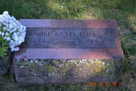 GREEN, CARLA JO - Branch County, Michigan | CARLA JO GREEN - Michigan Gravestone Photos