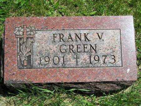 GREEN, FRANK V. - Branch County, Michigan | FRANK V. GREEN - Michigan Gravestone Photos