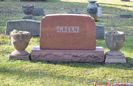 GREEN, FAMILY - Branch County, Michigan | FAMILY GREEN - Michigan Gravestone Photos